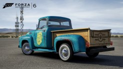 Fallout 4 1956 Ford F100 Back