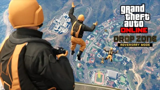 GTA Online Drop Zone