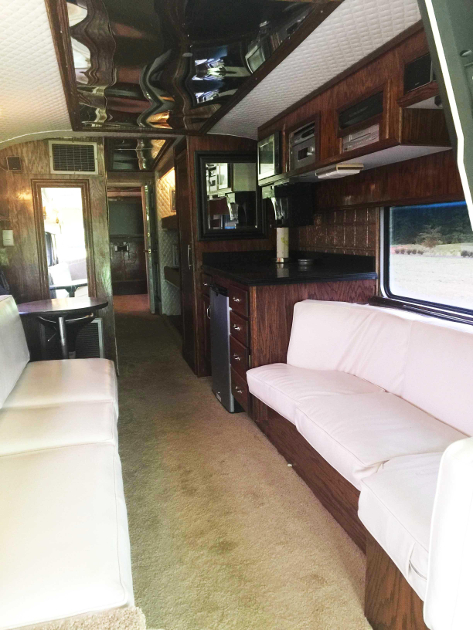 Loretta Lynns Vintage Eagle Tour Bus Up For Sale  Saving