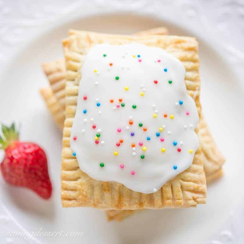 Homemade Strawberry Poptarts