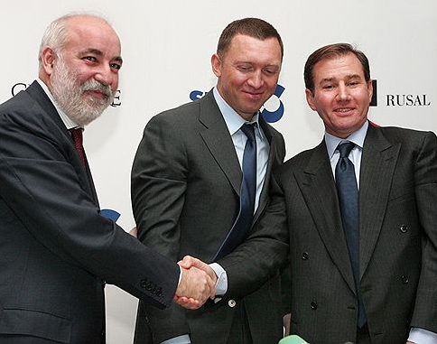 Image result for photos of Oleg V. Deripaska
