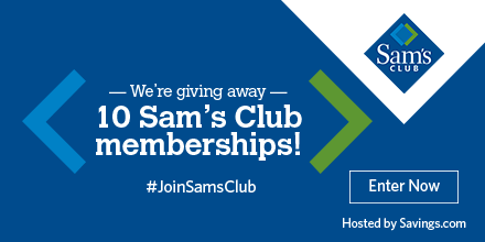Win a $100 Sam's Club Membership!