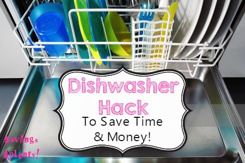 Dishwasher Hack That Will Save you Time and Money!