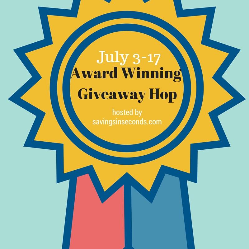 #AwardWinning2016 #giveaway hop signup - savingsinseconds.com July 3-17