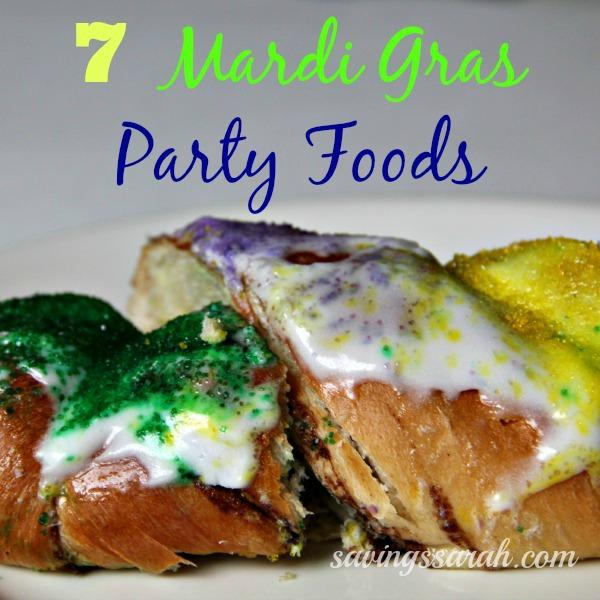 7 Mardi Gras Party Foods