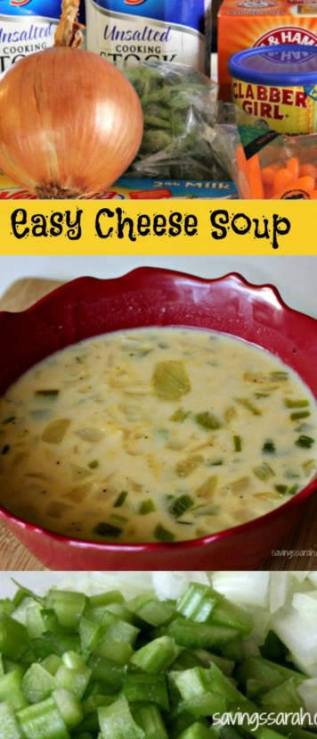Easy, Satisfying Cheese Soup