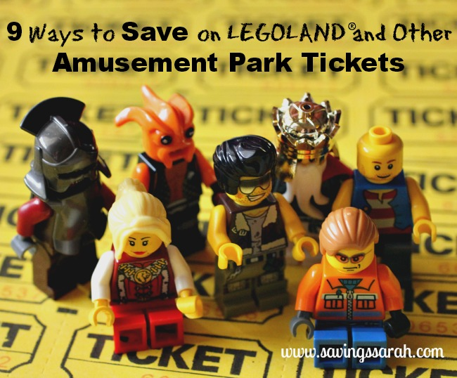Nine Ways to Save on LEGOLAND Amusement Park Tickets