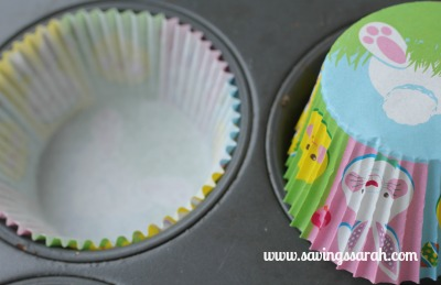 Butterscotch Bunny Muffin Liners