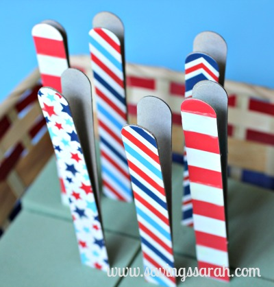 4th of July Craft Sticks