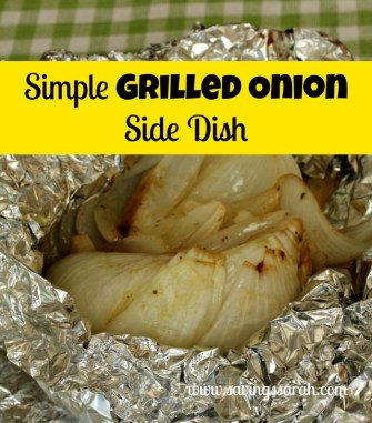 Simple Grilled Onion Side Dish