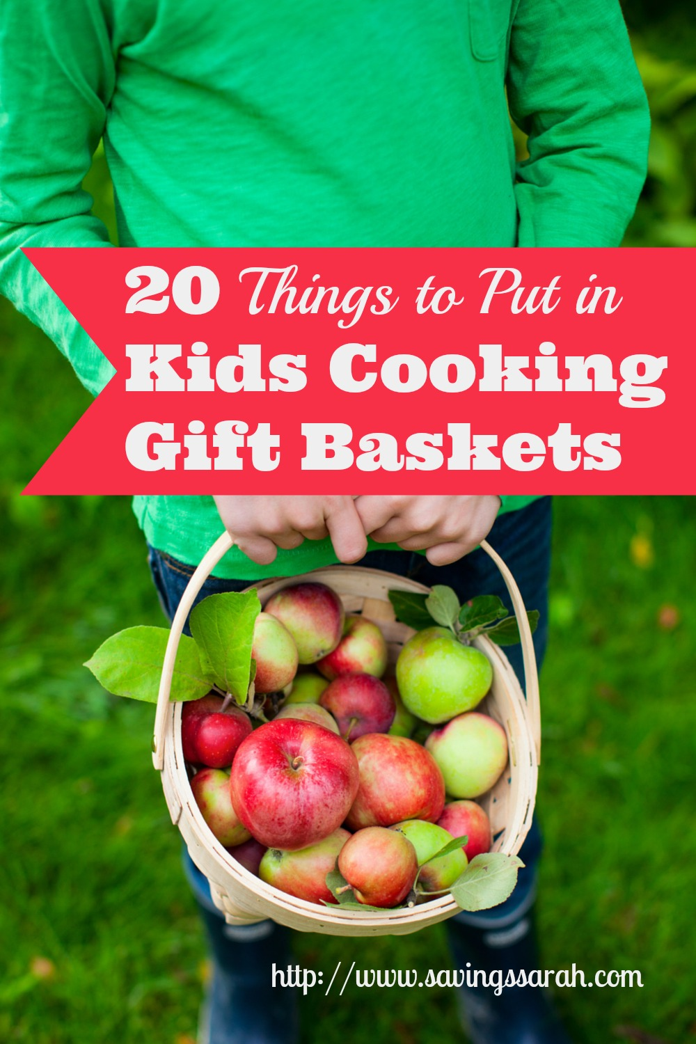 20 Things to Put in Kids Cooking Gift Baskets