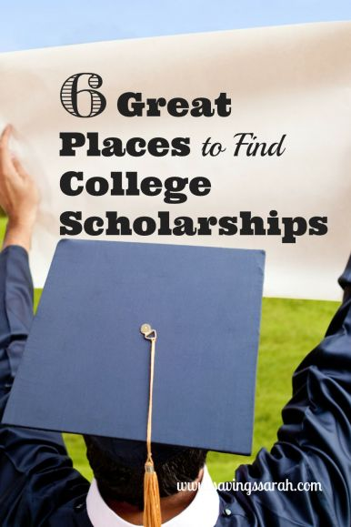 6 Great Places to Find College Scholarships