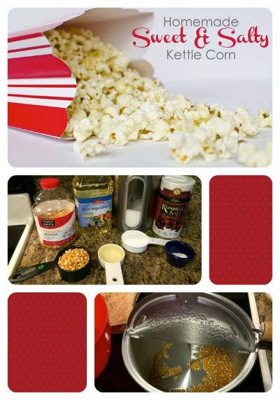 Homemade Sweet and Salty Kettle Corn