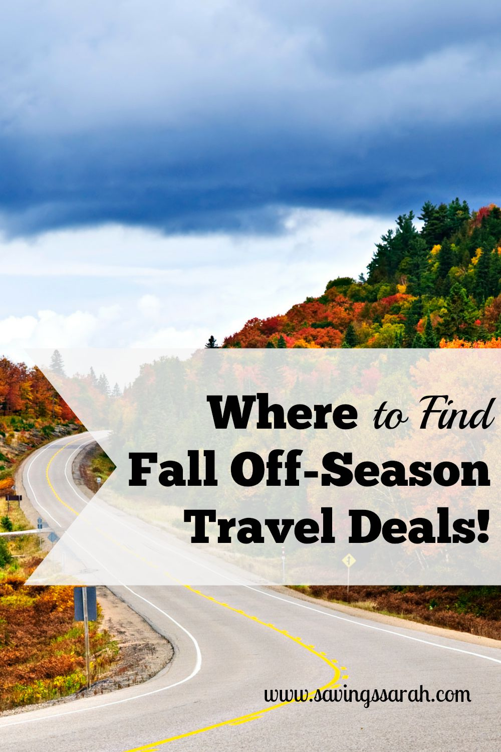 Where to Find Fall Off-Season Travel Deals