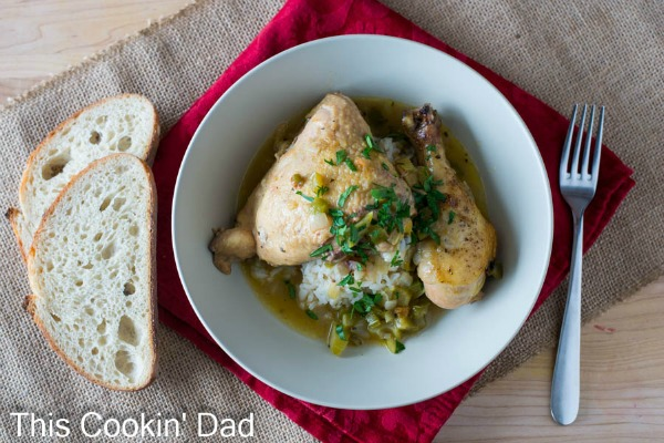 Chicken Courbouillon