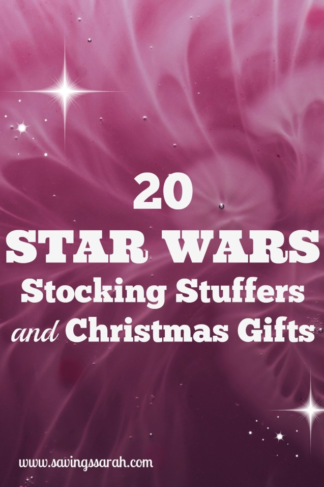 20 Star Wars Stocking Stuffers and Christmas Gifts