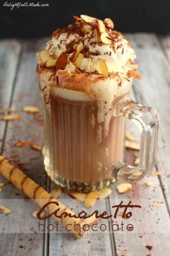 Amaretto Hot Chocolate Delightful E Made