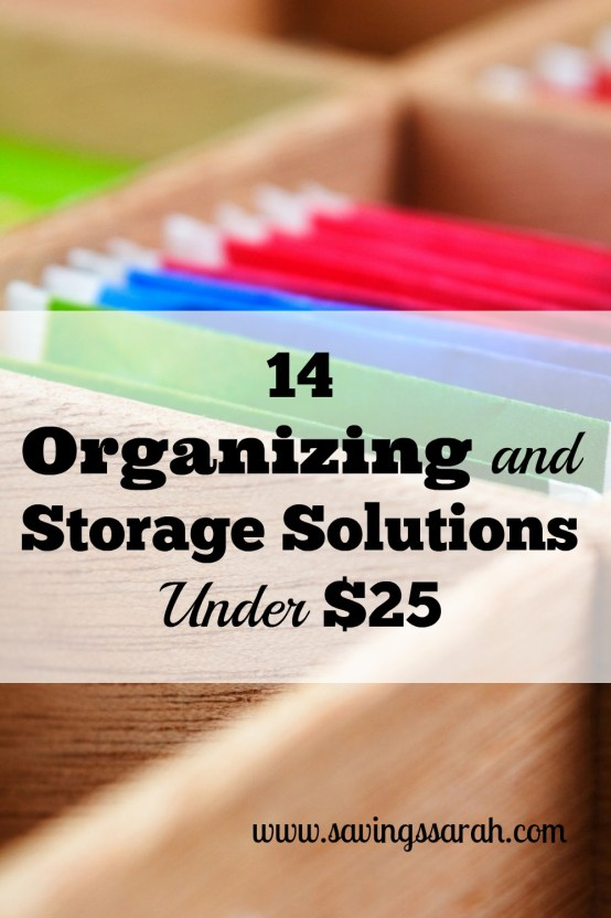 14 Organizing and Storage Solutions Under $25