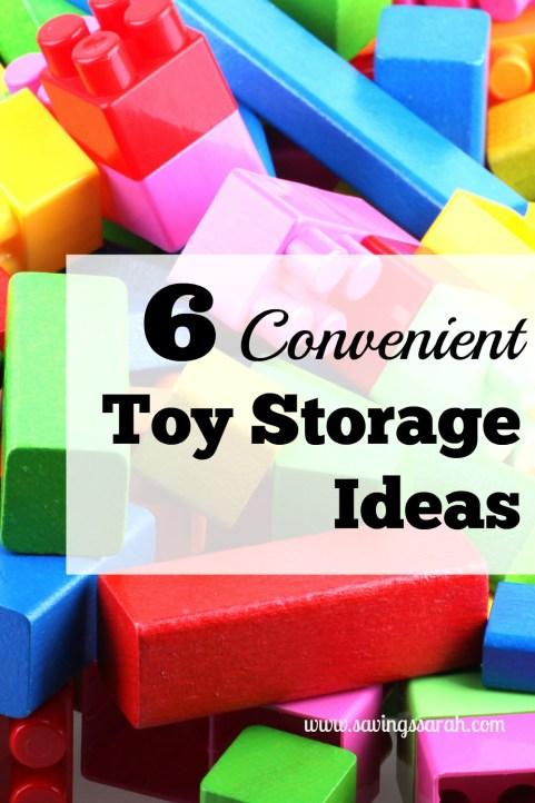 6 Convenient Toy Storage Ideas