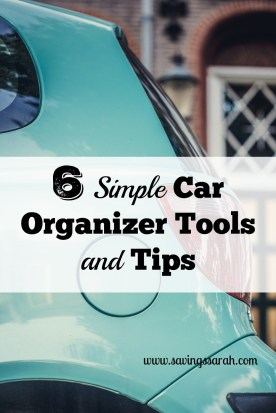 6 Simple Car Organizer Tools and Tips