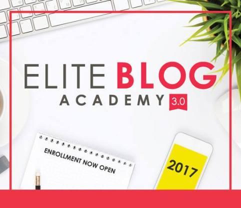 Elite Blog Academy Open