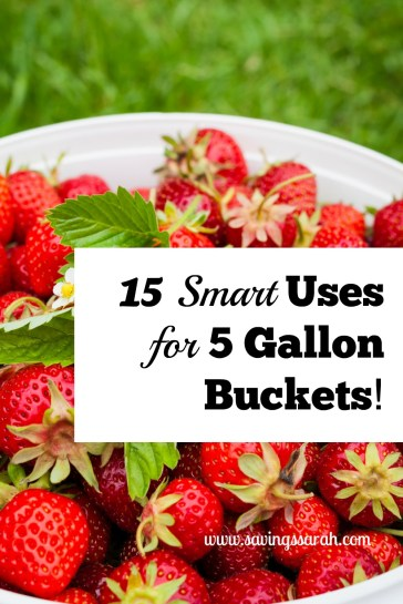 15 Smart Uses for 5 Gallon Buckets