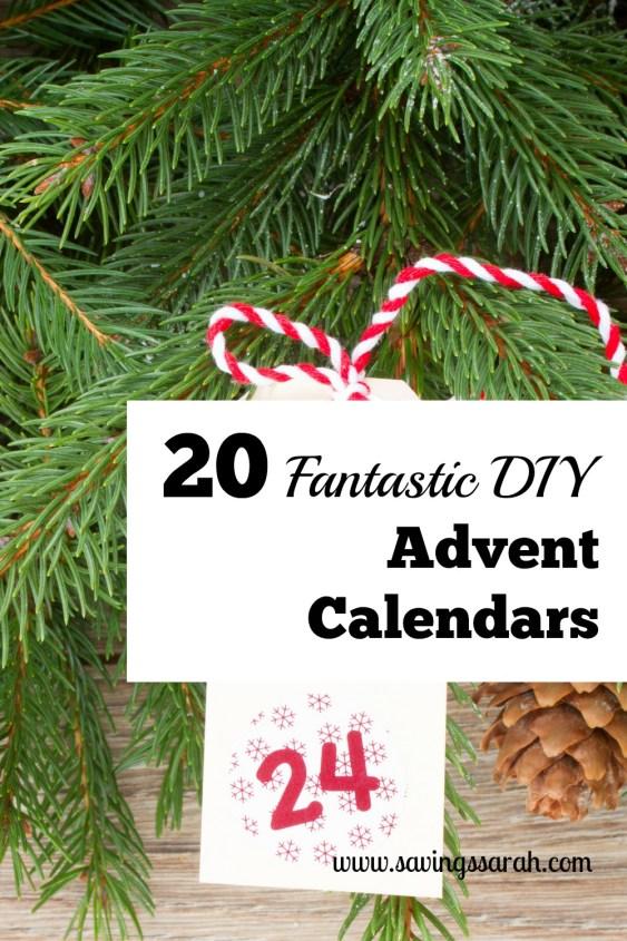 20 Fantastic DIY Advent Calendars