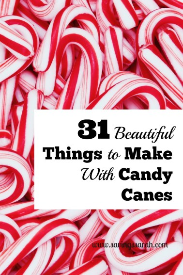 31 Beautiful Things To Make With Candy Canes