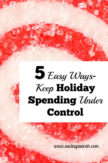5 Easy Ways to Keep Holiday Spending Under Control