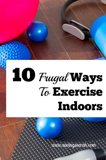 10 Frugal Ways to Exercise Indoors