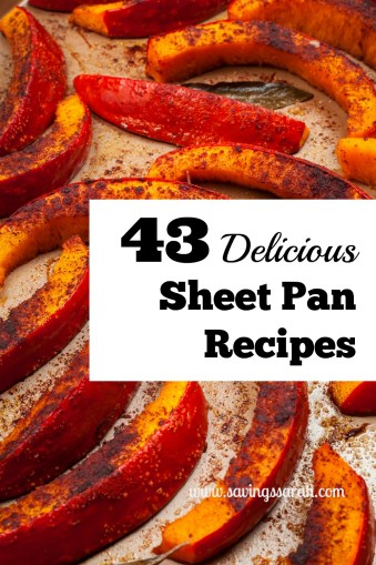 43 Delicious Sheet Pan Recipes