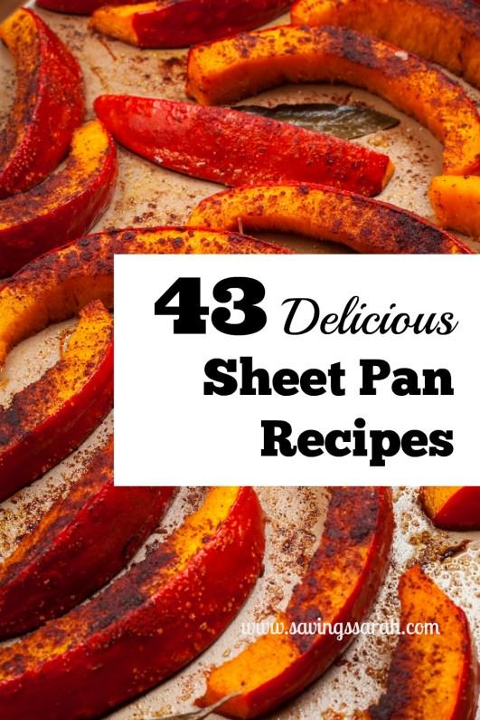 43 Delicious Sheet Pan Recipes