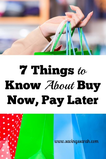 7 Things To Know About Buy Now Pay Later