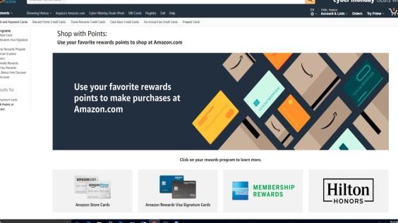 Redeem Your Points Amazon Rewards