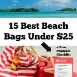 15 Best Beach Bags Under $25