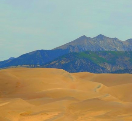 Great Sand Dunes National Park Panoramic View
