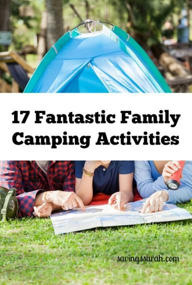 17 Fantastic Family Camping Activities