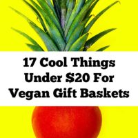 17 Awesome Things To Put In Vegan Gift Baskets That Are Under $20