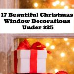 17 Gorgeous Christmas Window Decorations Under $25
