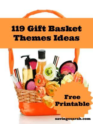 119 Gift Basket Themes Printables