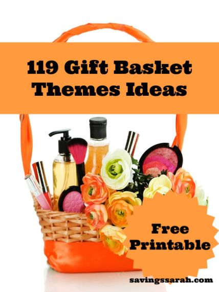 119 Gift Basket Themes Printables