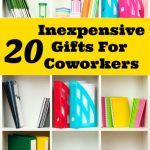 20 Inexpensive Gifts For Coworkers
