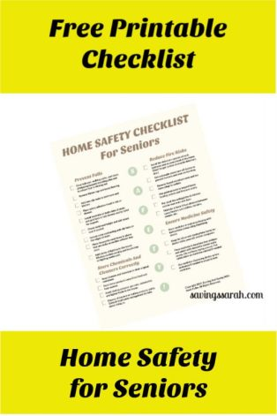 Free Printable Home Safety Checklist For Seniors