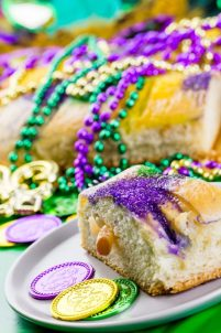 Mardi Gras Party King Cake