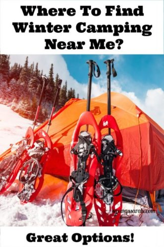 Where to Find Winter Camping Near Me