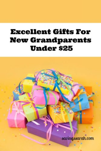 Gifts For New Grandparents Under $25