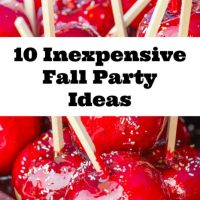 10 Inexpensive Fall Party Ideas