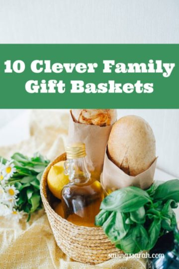 10 Clever Family Gift Baskets To Give