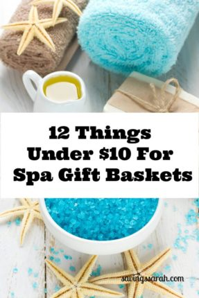 12 Things Under $10 For Spa Gift Baskets