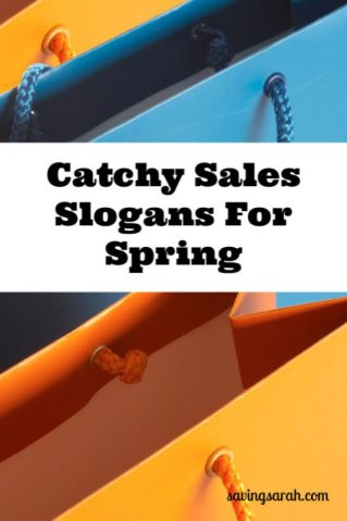 Catchy Sales Slogans For Spring